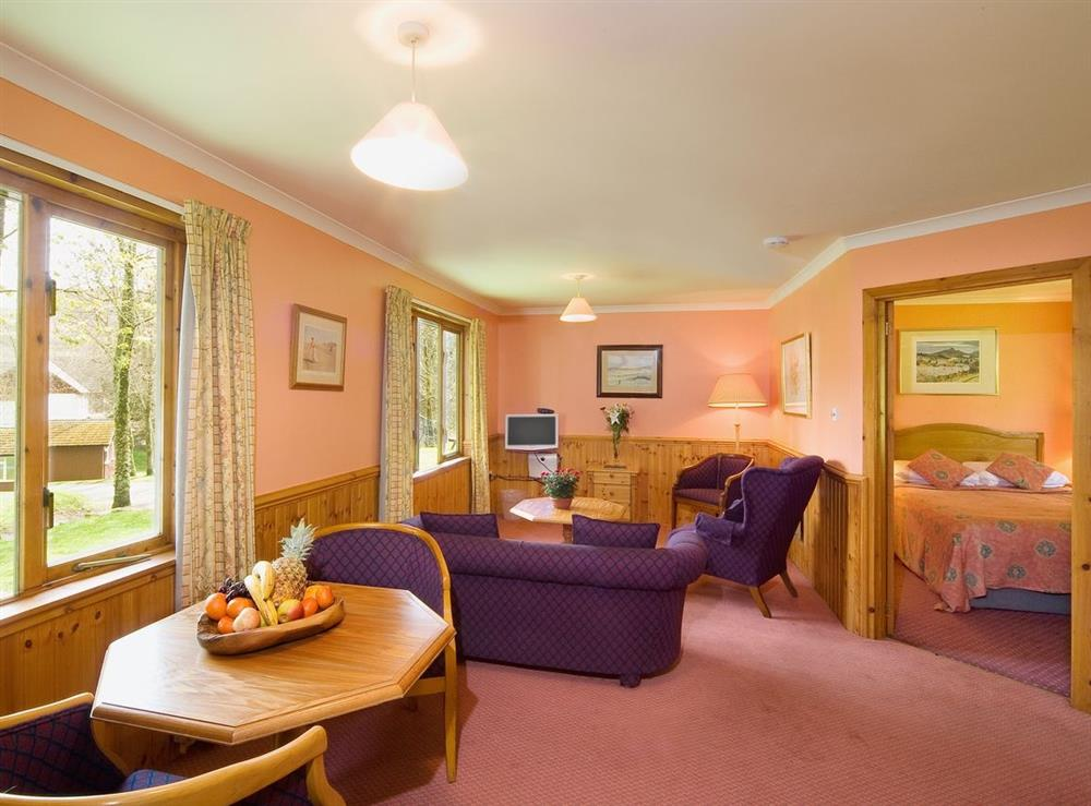 Typical Living room/dining room at Poplar,