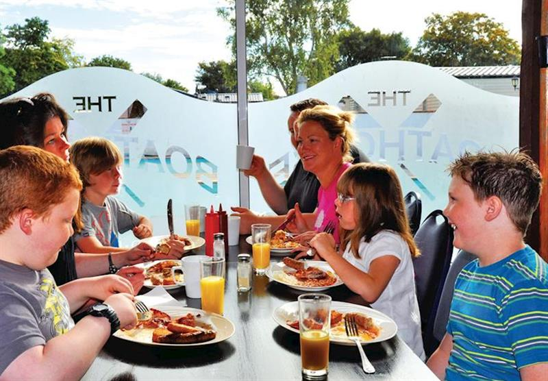 The Boathouse Restaurant at Lakeside Holiday Park in Burnham-on-Sea, Somerset