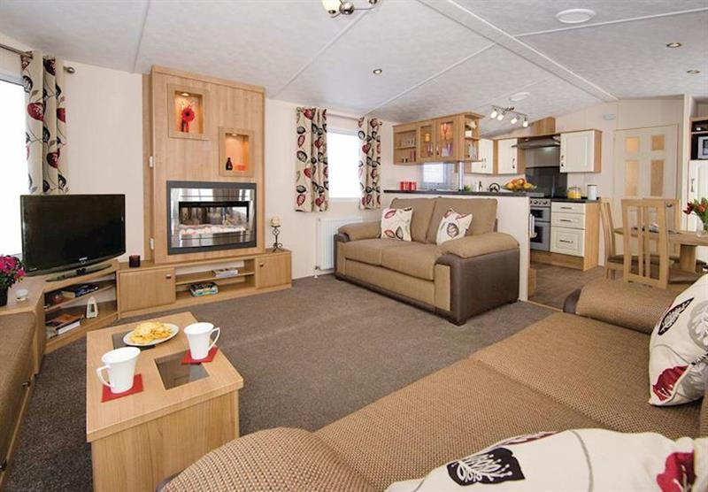 Typical Osprey 8 at Lakeside Holiday Park in Burnham-on-Sea, Somerset