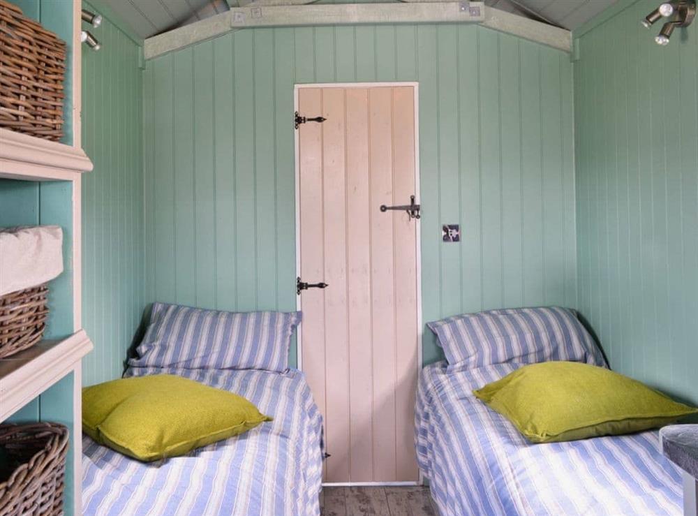 Bedroom at Lakeside Hut in Gillingham, Dorset