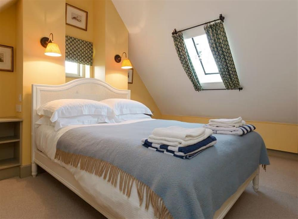 Comfortable double bedroom at Cedar Cottage,