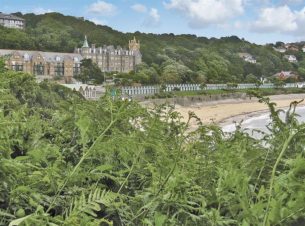 View at Langland Bay Manor in Gower, Swansea., West Glamorgan