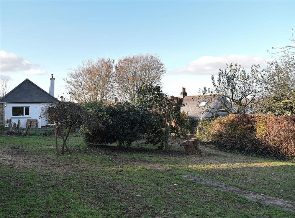 Garden at Lansdowne in Walkhampton, near Tavistock, Devon