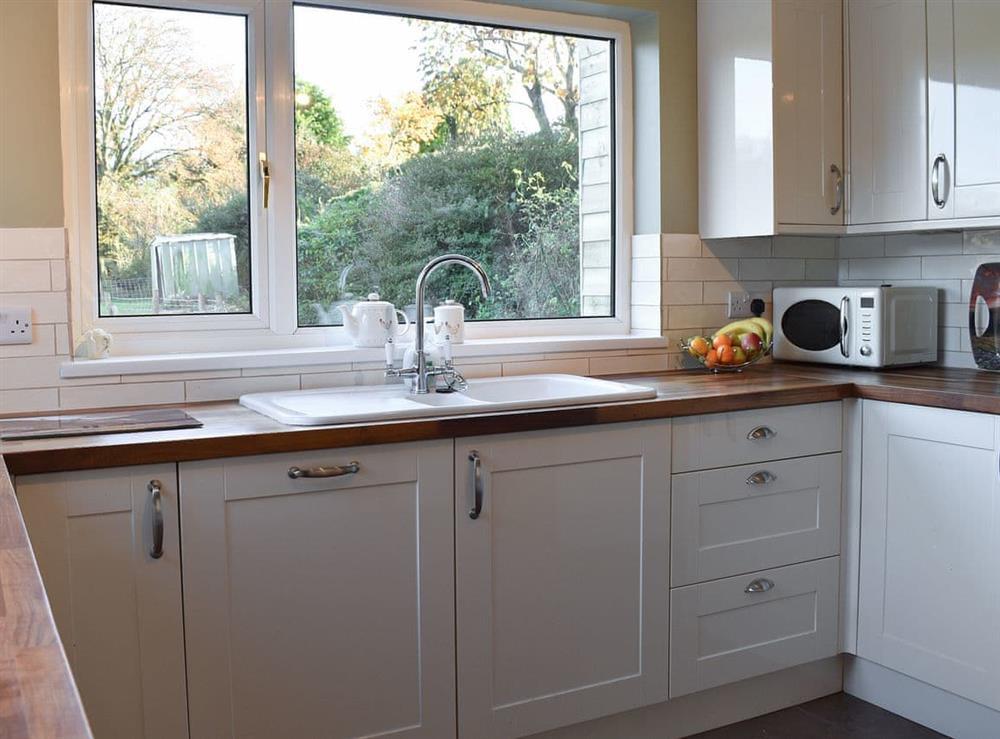 Kitchen at Lansdowne in Walkhampton, near Tavistock, Devon