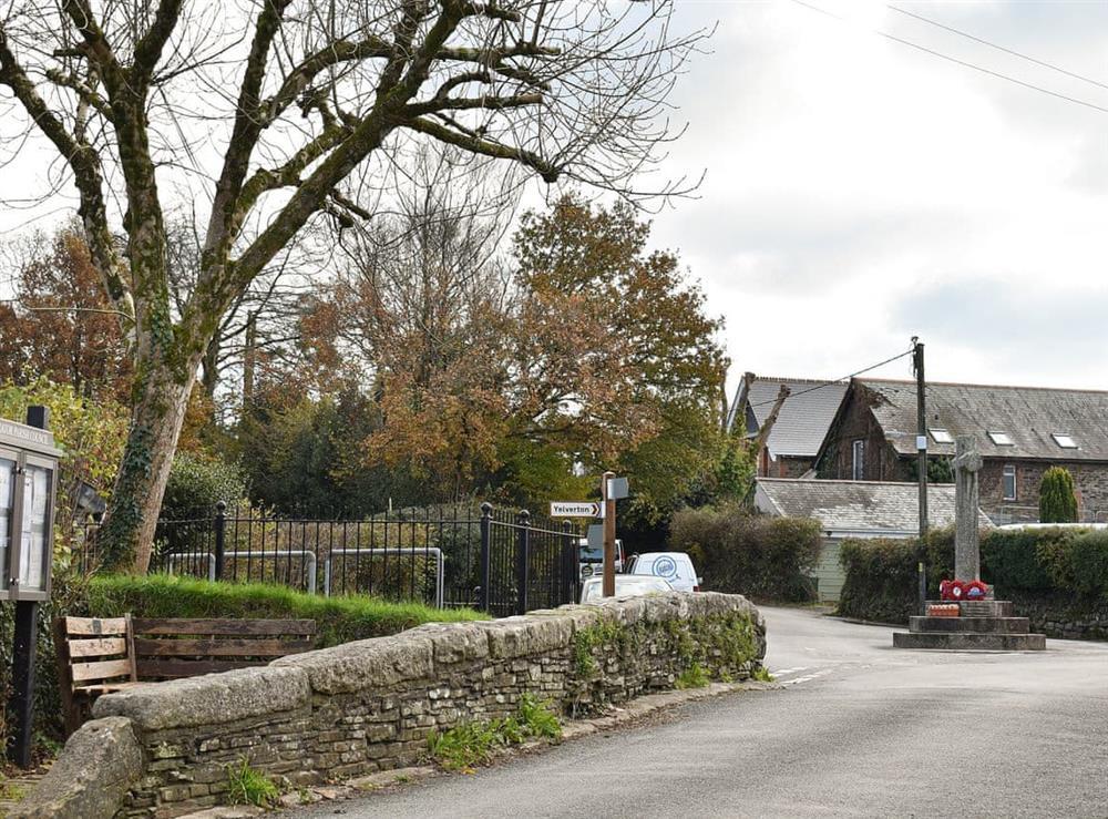 Local area at Lansdowne in Walkhampton, near Tavistock, Devon