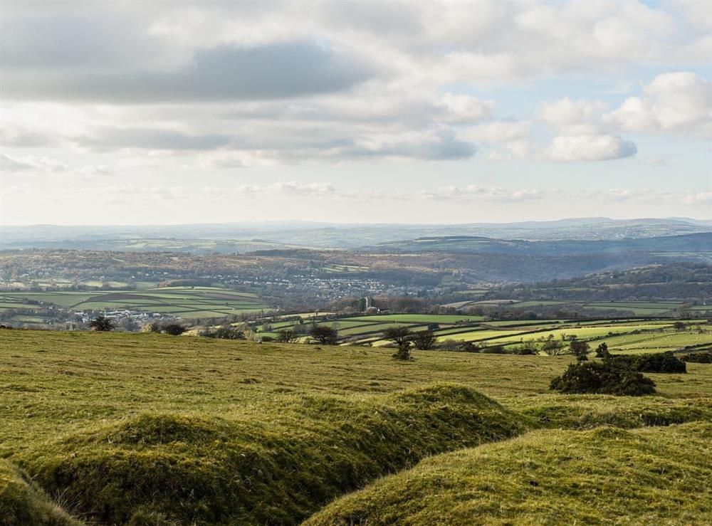 Surrounding views at Lansdowne in Walkhampton, near Tavistock, Devon