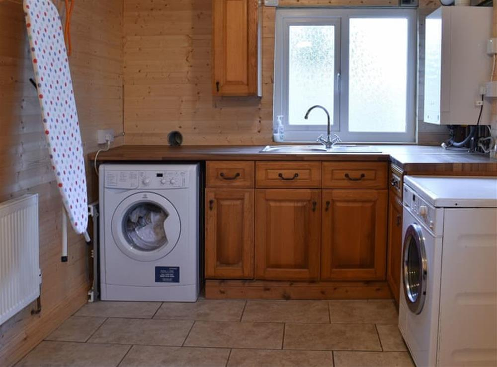 Utility room at Lansdowne in Walkhampton, near Tavistock, Devon