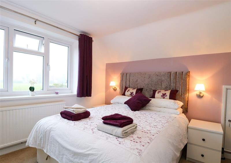 One of the bedrooms at Lark Rise, Salhouse near Wroxham