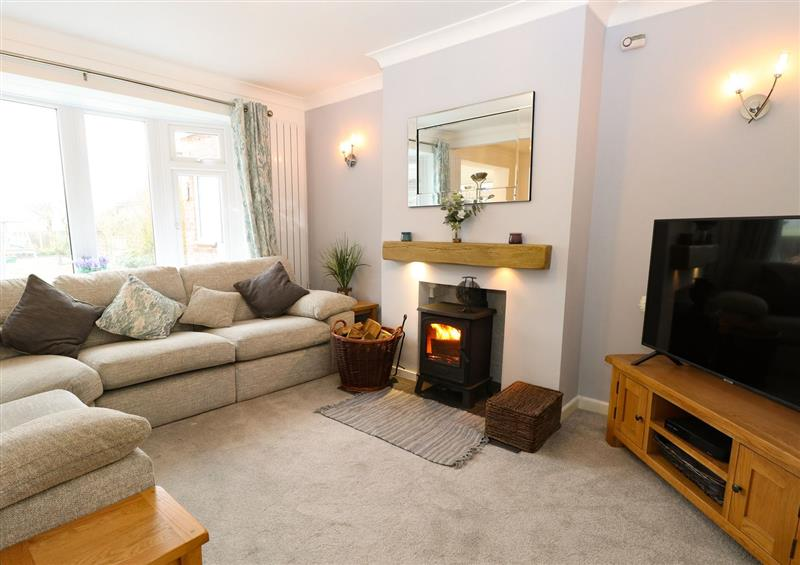 Relax in the living area at Lark Rise, Salhouse near Wroxham