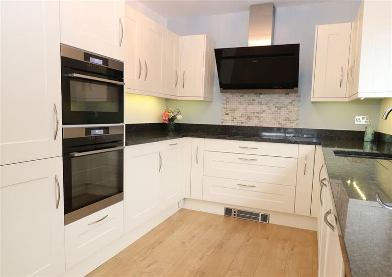 The kitchen at Lark Rise, Salhouse near Wroxham