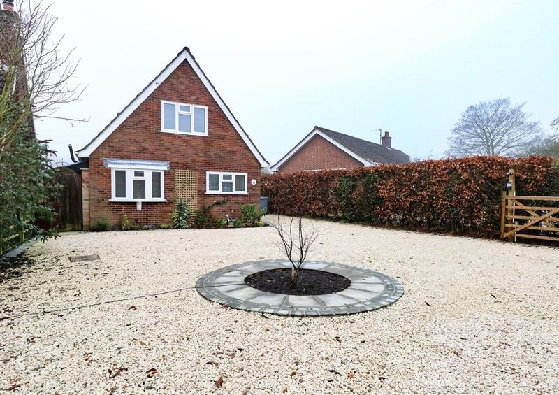 This is the garden at Lark Rise, Salhouse near Wroxham