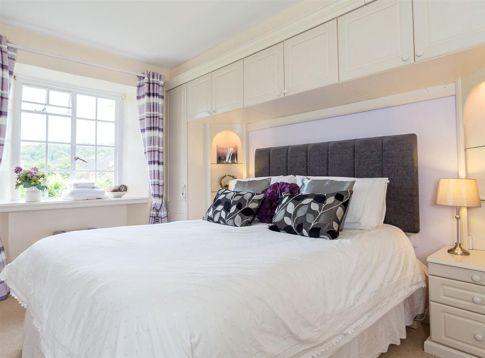 Double bedroom at Laurel Cottage in Stoke Gabriel, South Devon., Great Britain