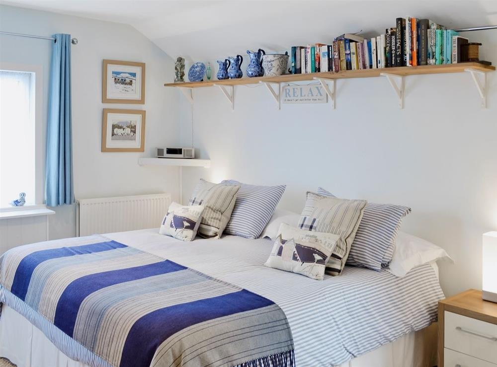 Double bedroom at Learig Cottage in Girvan, Ayrshire