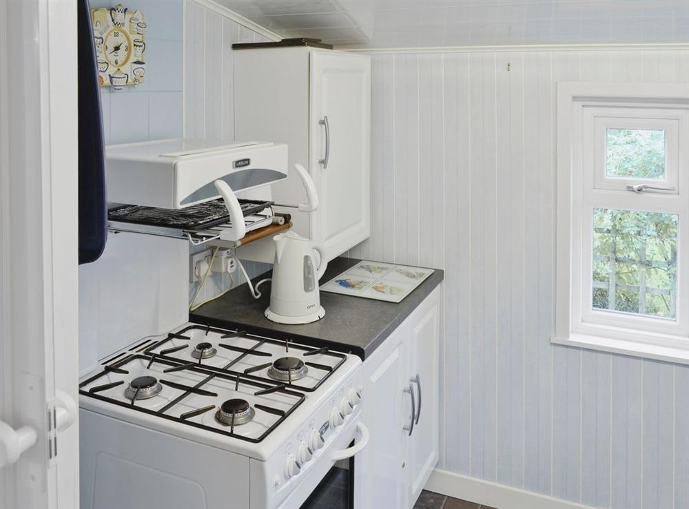 Kitchen at Learig Cottage in Girvan, Ayrshire
