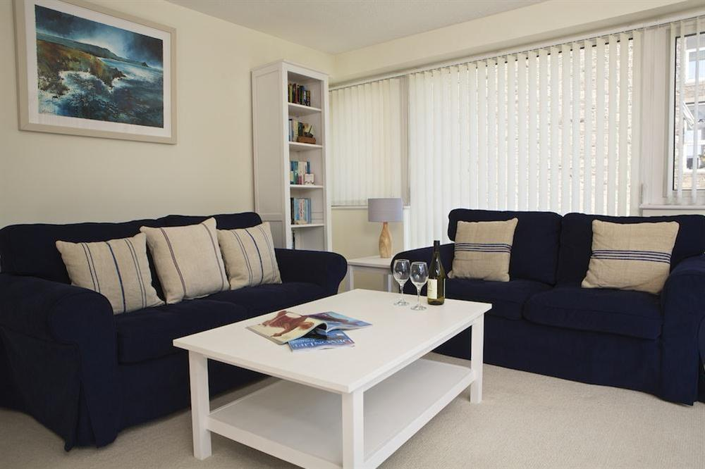 Comfortable and well equipped living area with wonderful views at Leeside in , Dartmouth