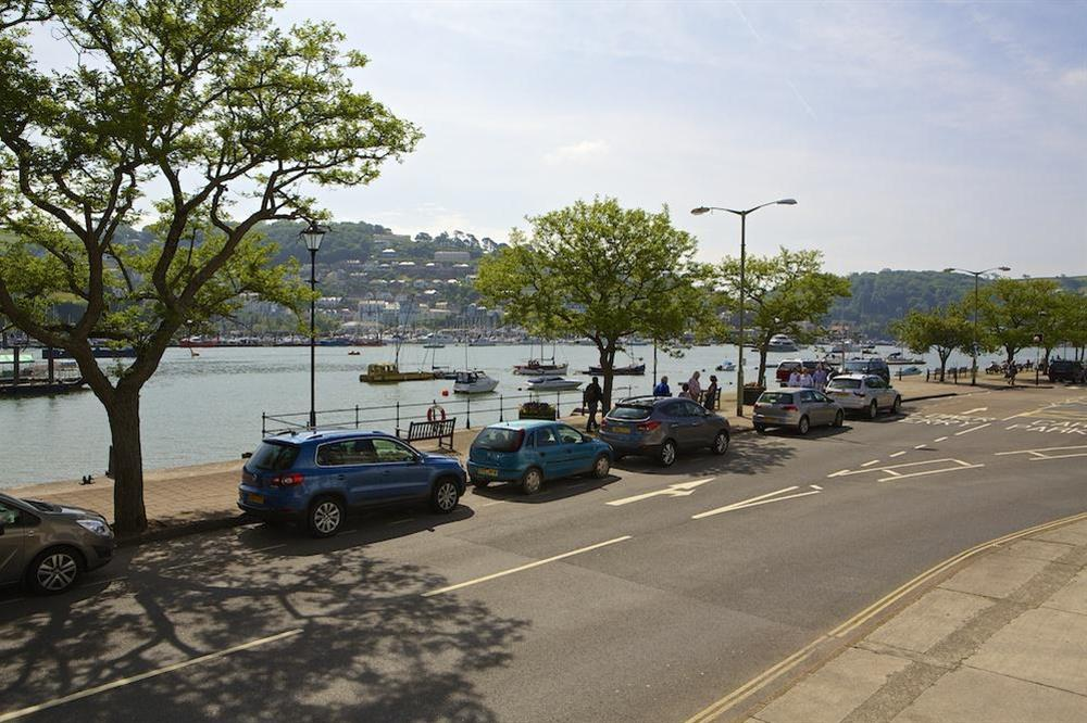Lovely view from the lounge over the River Dart at Leeside in , Dartmouth
