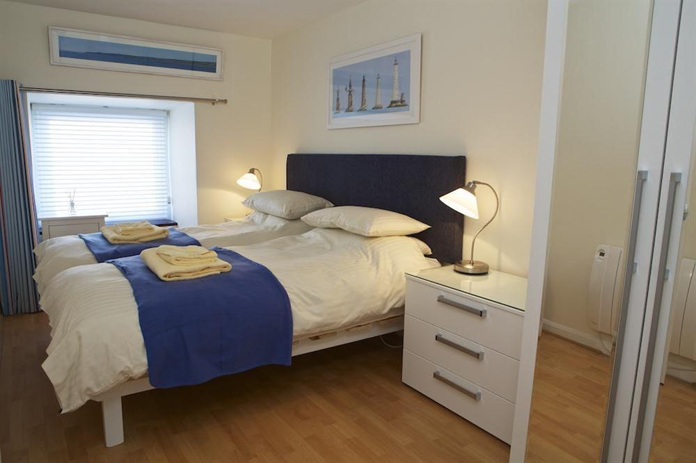 Twin room at Leeside in , Dartmouth