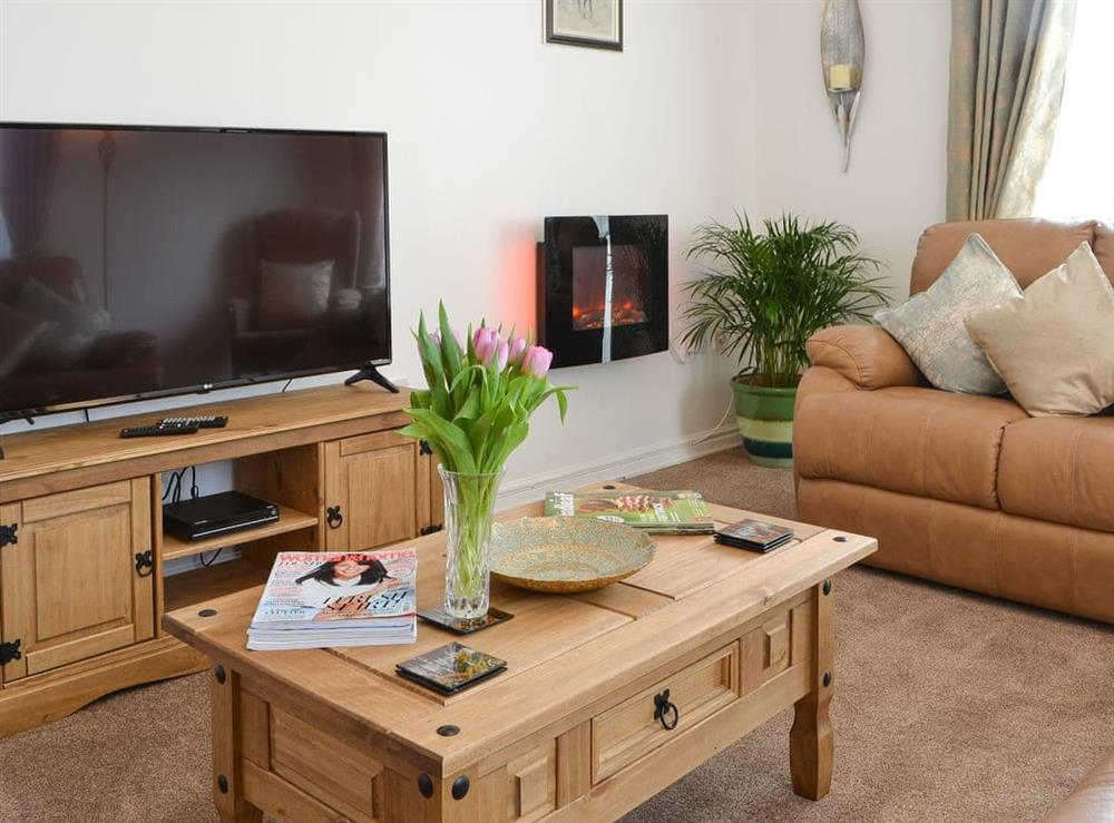 Living room at Lena Court in Kilham, near Driffield, North Humberside