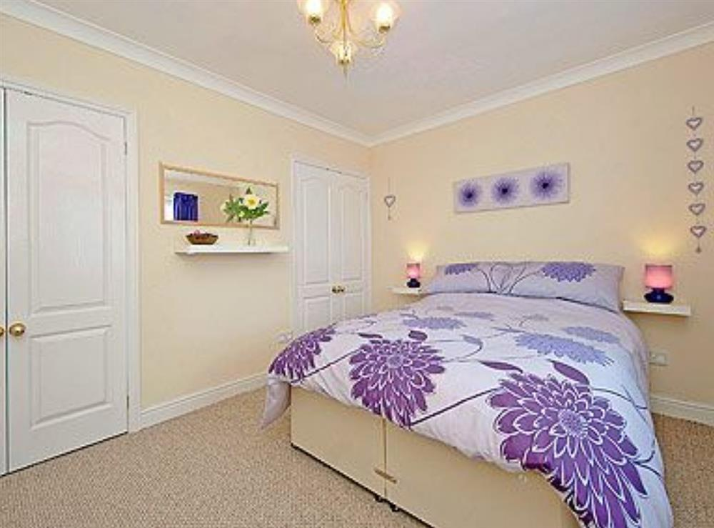 Double bedroom at Lenas Lodge in Camer's Green, Berrow, near Malvern, Worcestershire