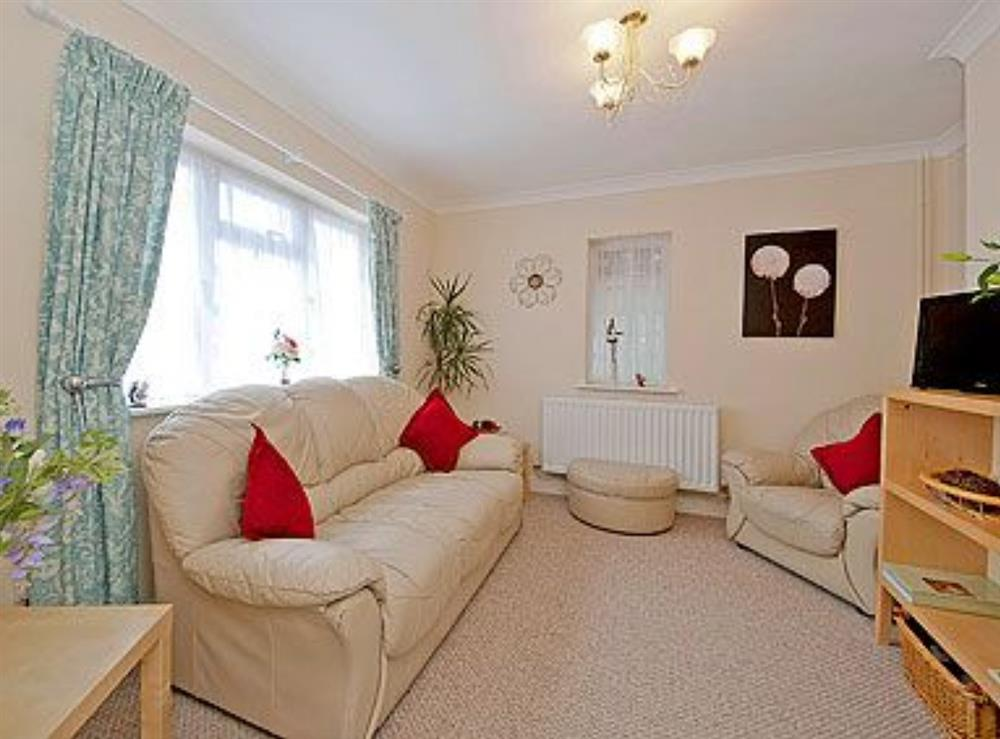 Living room at Lenas Lodge in Camer's Green, Berrow, near Malvern, Worcestershire