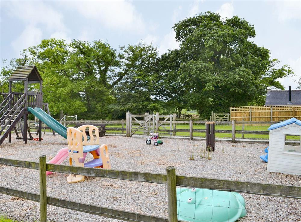 Children's play area at Otters Den,
