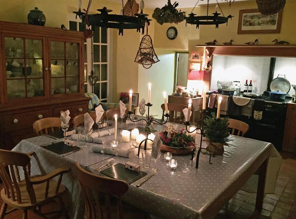 Kitchen/diner at Toad Hall,