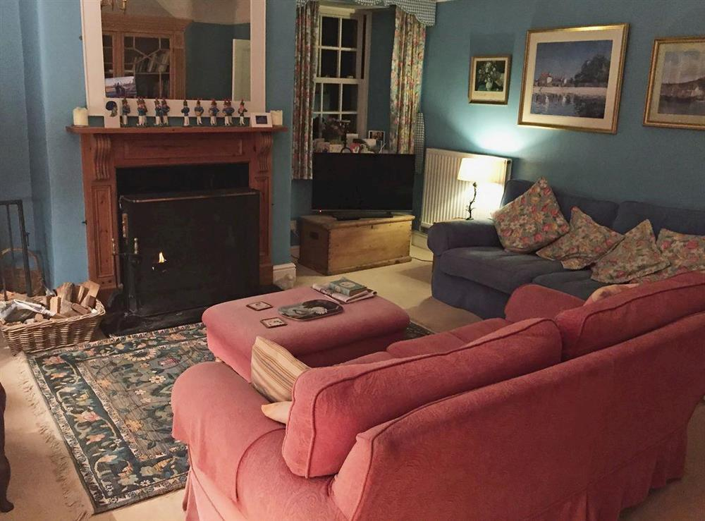 Living room at Toad Hall,