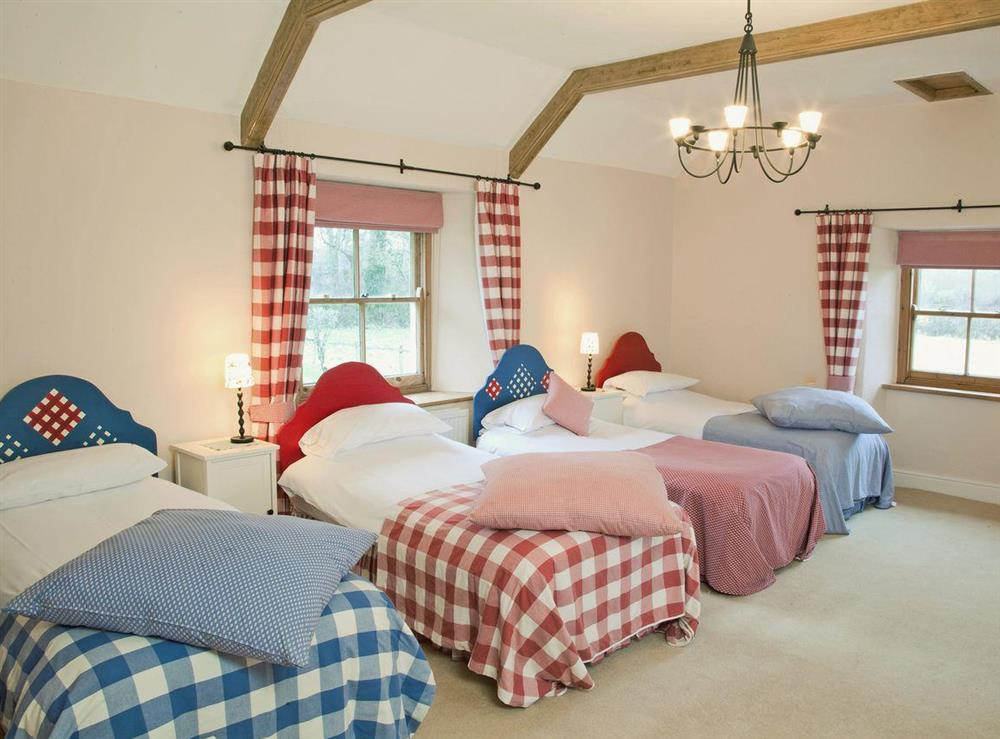 Triple bedroom at Toad Hall,