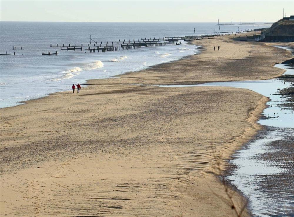 Beach at Lighthouse Cottage in Happisburgh, Nr Cromer, Norfolk., Great Britain
