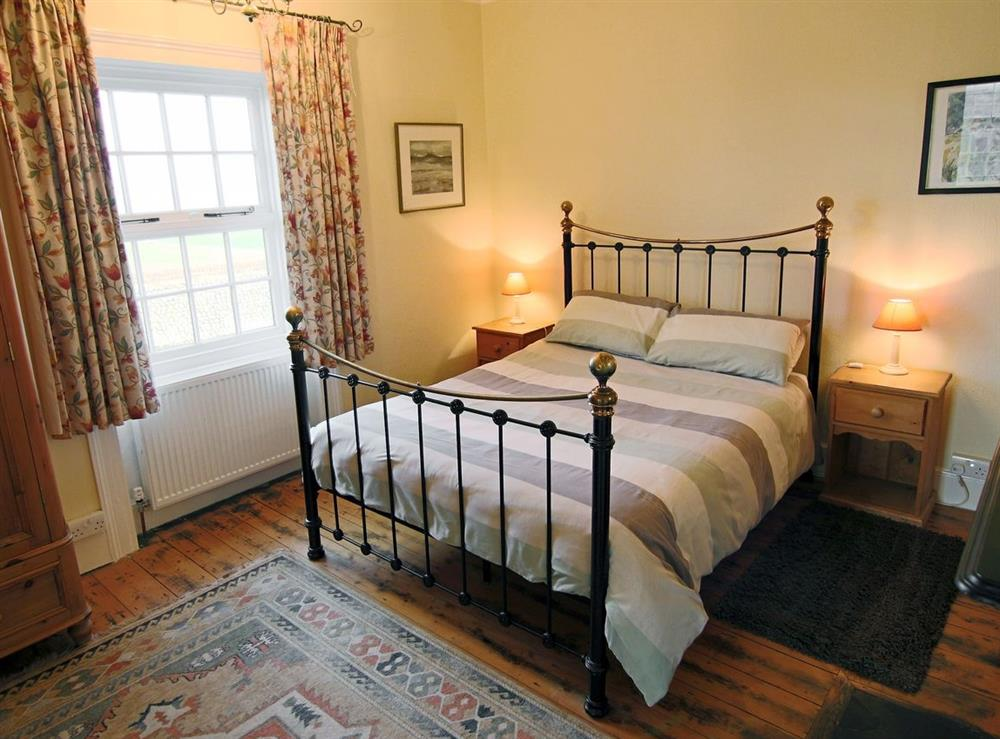 Double bedroom at Lighthouse Cottage in Happisburgh, Nr Cromer, Norfolk., Great Britain