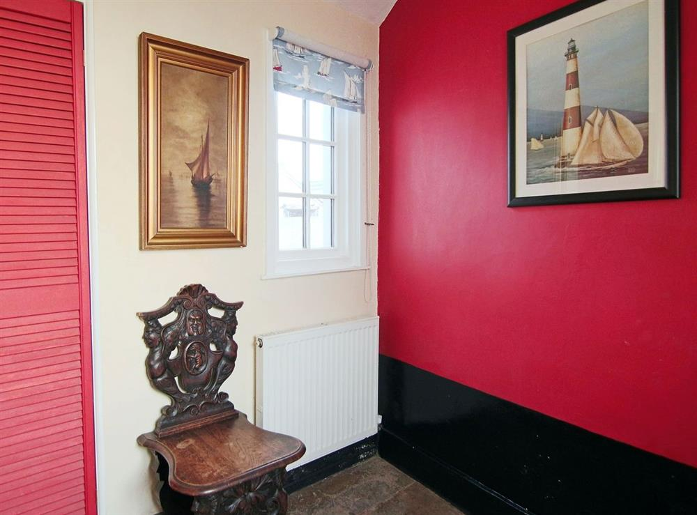 Hallway at Lighthouse Cottage in Happisburgh, Nr Cromer, Norfolk., Great Britain