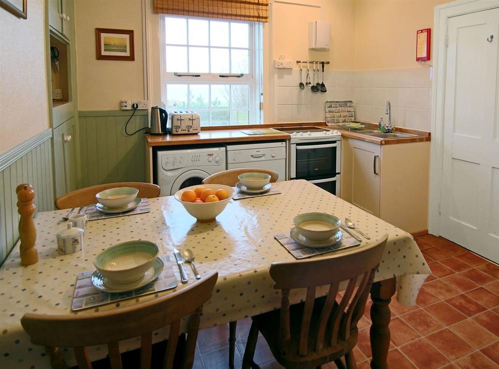 Kitchen/diner at Lighthouse Cottage in Happisburgh, Nr Cromer, Norfolk., Great Britain