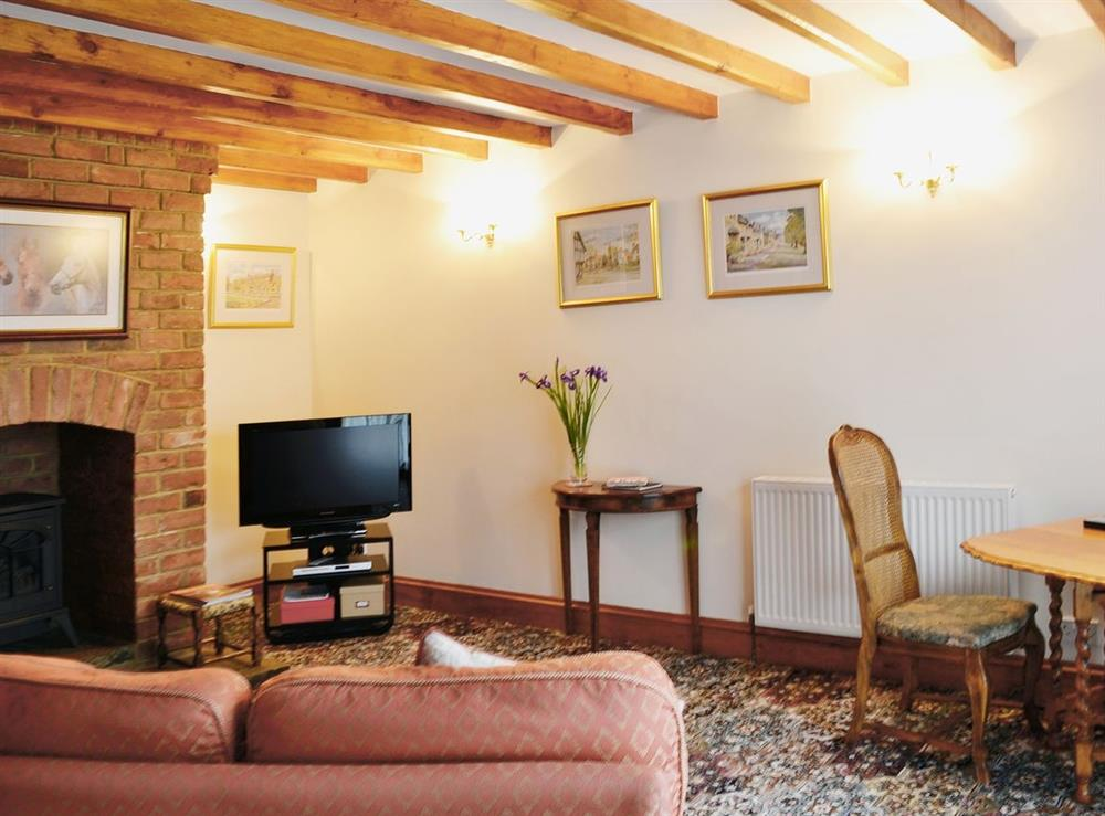 Living room/dining room at Lime Cottage in Dumbleton, Nr Broadway, Worcs., Worcestershire