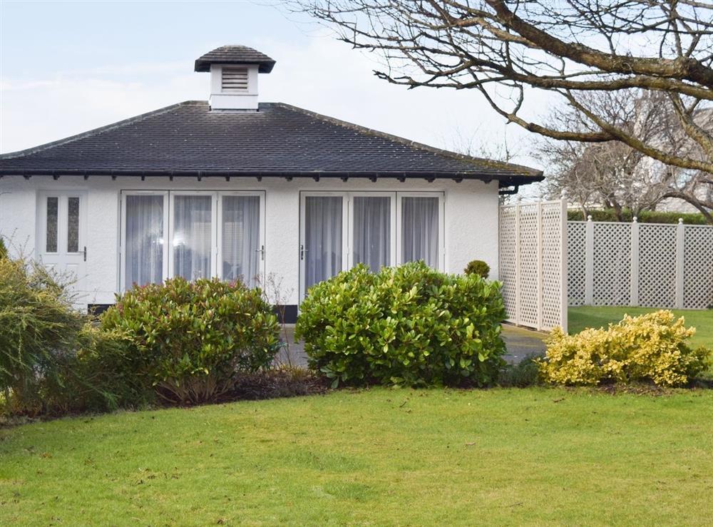 Exterior at Links Lodge in Longniddry, near Edinburgh, East Lothian