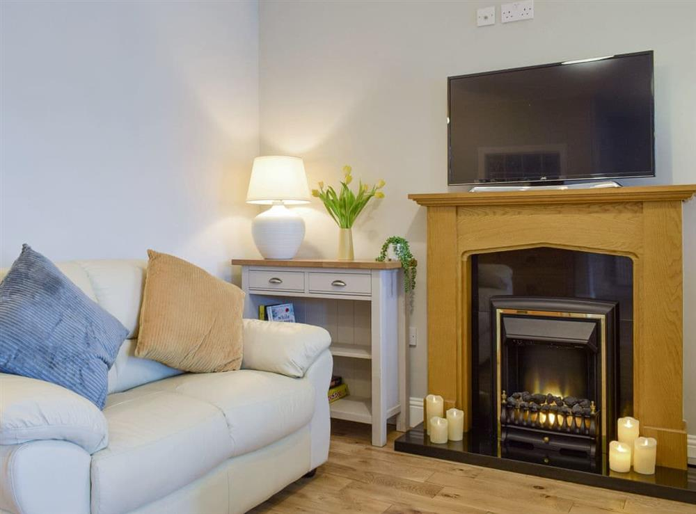 Welcoming living area at Links Road in Lundin Links, near Leven, Fife