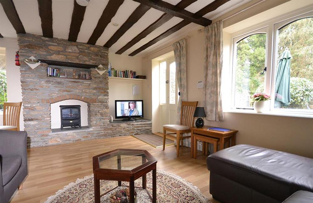 Another view of the living room at Little Barley, Modbury