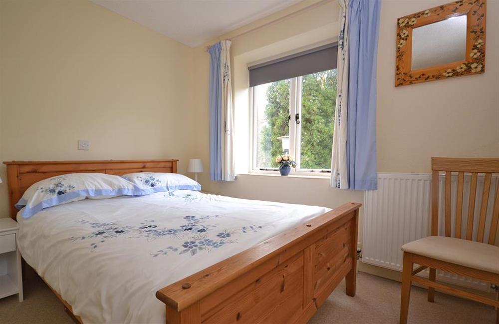The double bedroom at Little Barley, Modbury