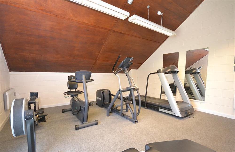 The gym at Little Barley, Modbury