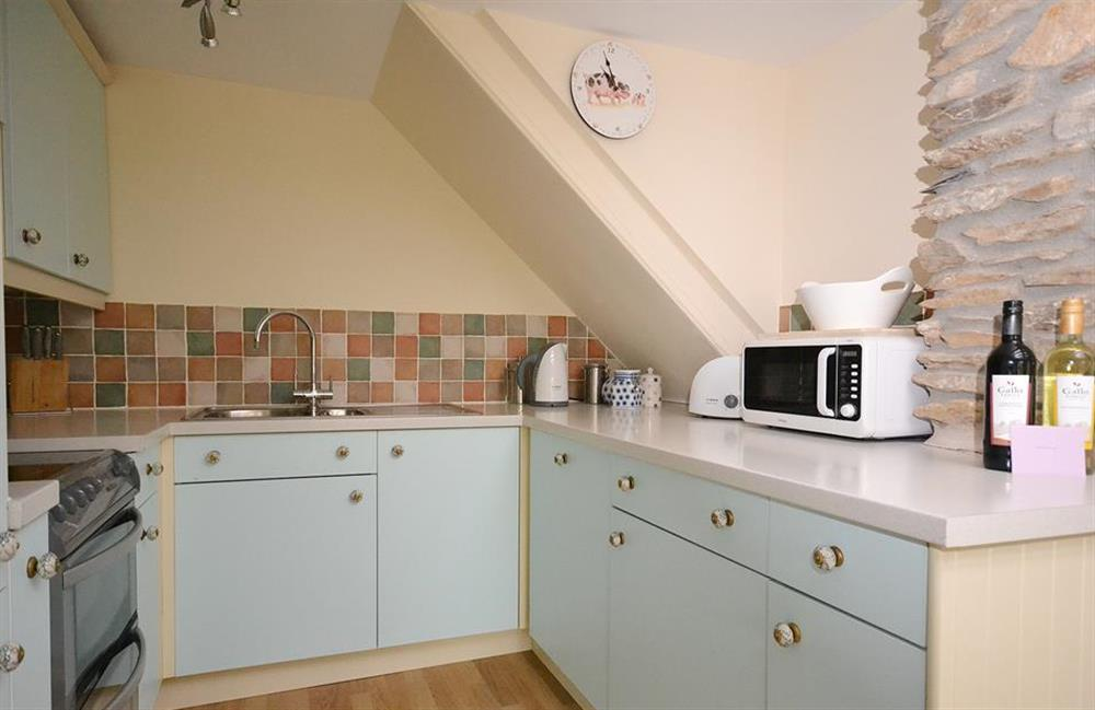 The kitchen at Little Barley, Modbury