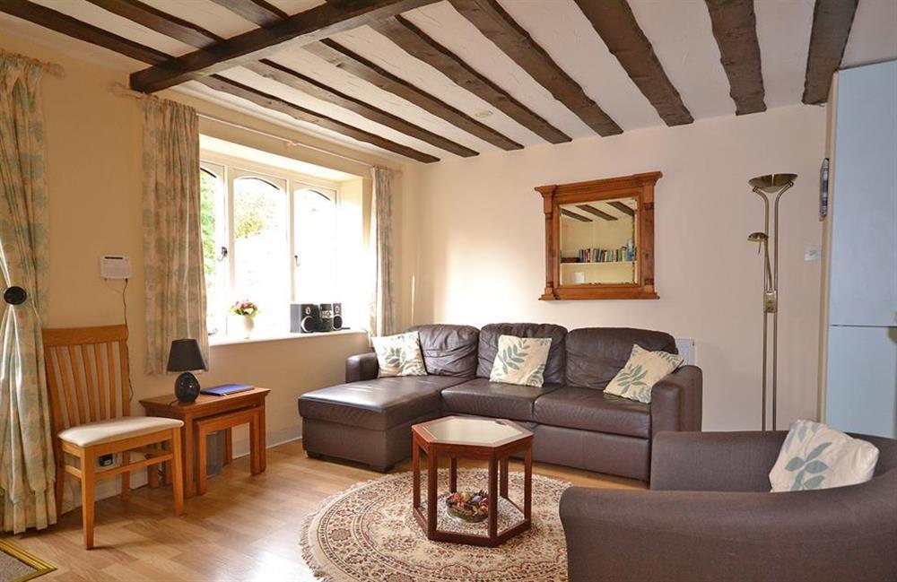 The living room at Little Barley, Modbury
