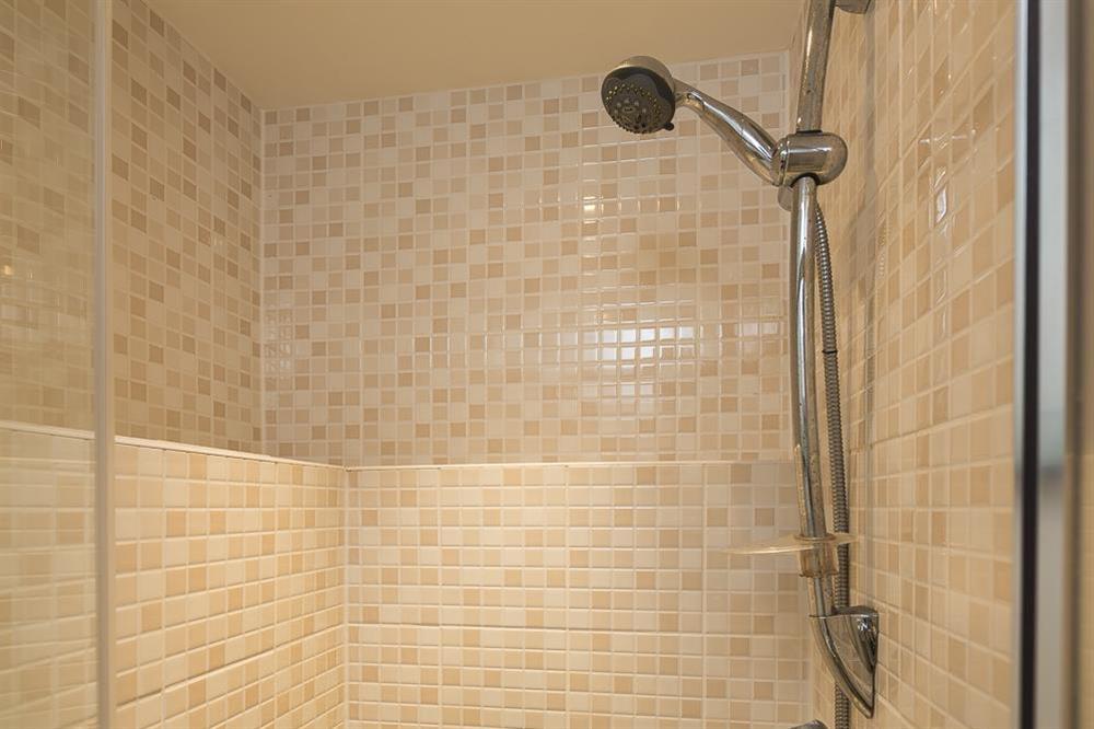 En suite shower room (photo 2) at Little Cotton Farmhouse in Venn Lane, Nr Dartmouth