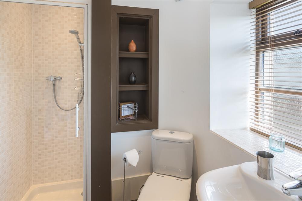 En suite shower room (photo 3) at Little Cotton Farmhouse in Venn Lane, Nr Dartmouth