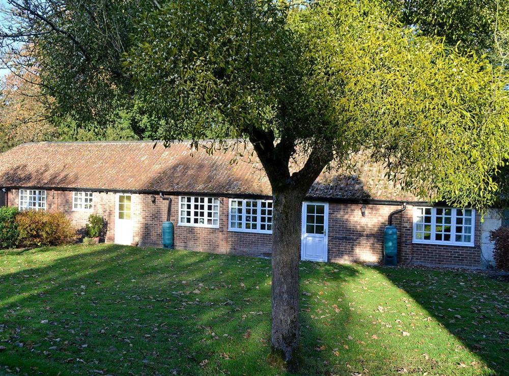 Charming conversion of former stable block at Upton Cottage,