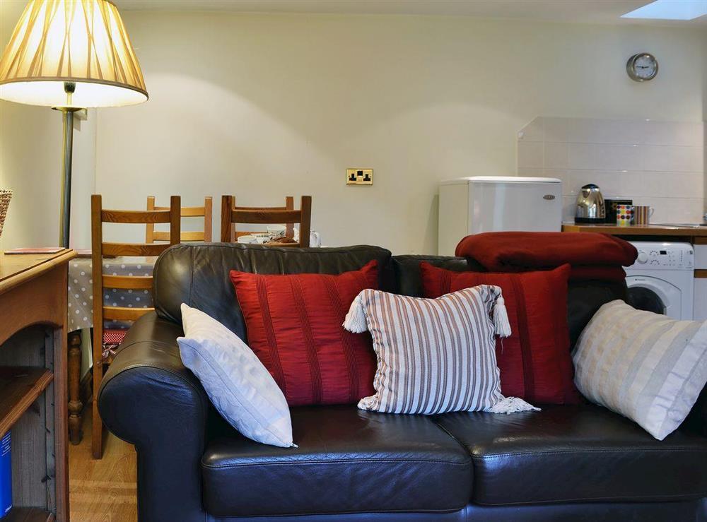 Comfortable sofa at Upton Cottage,
