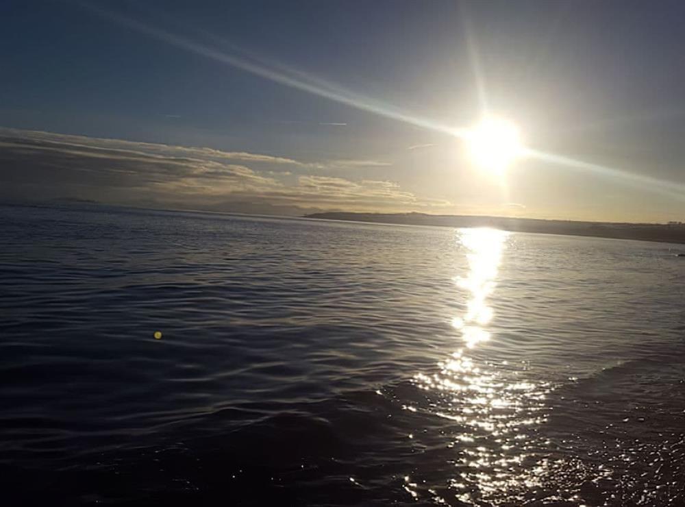 Across the bay towards Kirkcaldy at Little Gem in Kirkcaldy, Fife