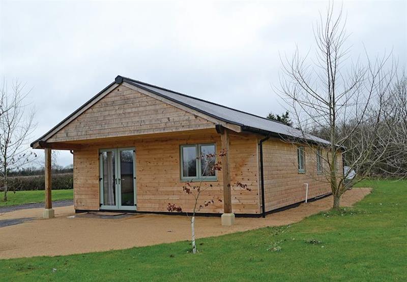 The Hedgehog Lodge at Little Moorland Farm Lodges in Chapel Allerton, Somerset