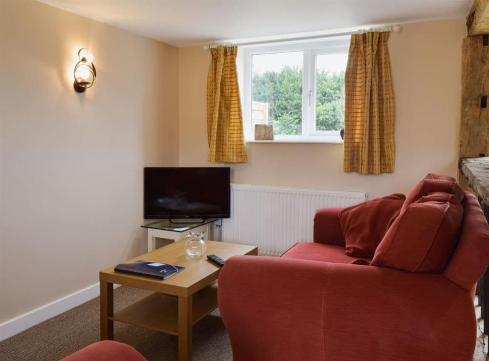 Living room at Little Oaks Cottage in Wetherden, near Stowmarket, Suffolk