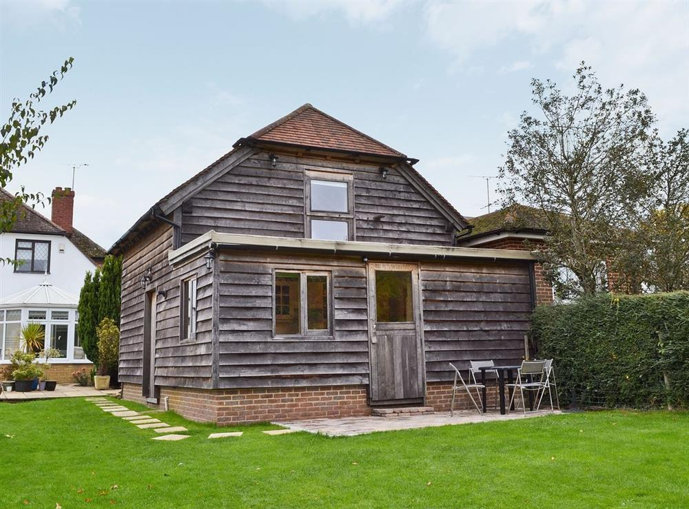 Exterior at Little Timbers in Small Dole, near Henfield, West Sussex