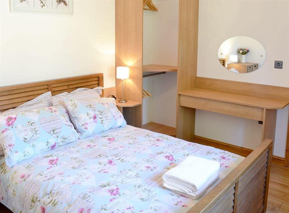 Cosy double bedroom at Little Tree Cottage in Skeyton, near Norwich, Norfolk