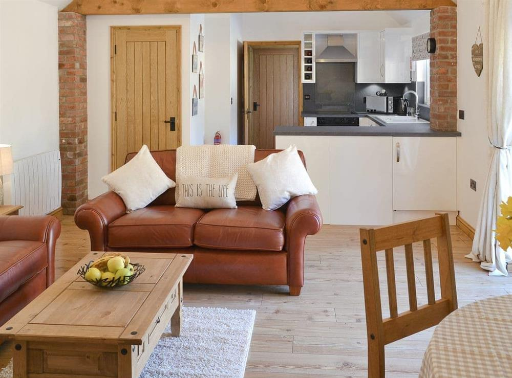 Well appointed open plan living/dining room/kitchen at Little Tree Cottage in Skeyton, near Norwich, Norfolk